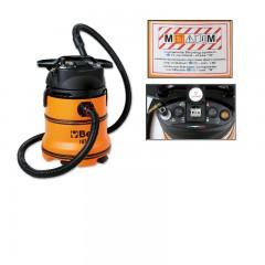 """Aspiratore 35 litri per solidi e liquidi con prese di servio corrente ed aria compressa classe certificata """"M"""" - Beta 1871M/AS"""