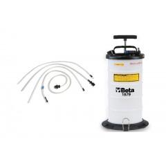 Aspiratore liquidi manuale e pneumatico da 9,5 Litri - Beta 1879