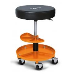 Heavy duty swivel creeper seat with tray - Beta 2250-O