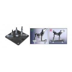 Supporto pressa per estrazione/introduzione mozzi, cuscinetti e silent block - Beta 3027/PR