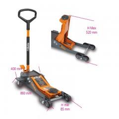 Sollevatore idraulico ribassato 2 t a 6 ruote - Beta 3030/2T