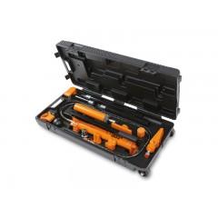 Pompa oleodinamica 10 t e kit accessori per carrozzeria in pratica valigia trolley - Beta 1365/K13