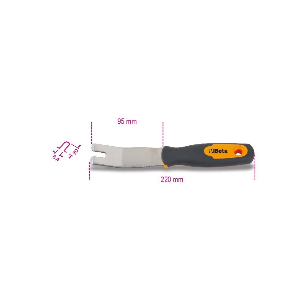 Levapioli lama inox - Beta 1479U/32
