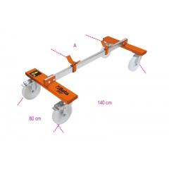 Carrello sottoscocca per veicoli senza meccanica anteriore/posteriore - Beta 3007