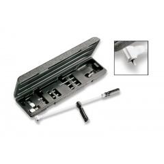 Cassetta giravite angolare 90° tipo lungo con lame - Beta 1439/K7