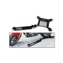 Base mobile per cavalletto centrale o per ruota posteriore moto con estensione per cavalletto laterale - Beta 3054