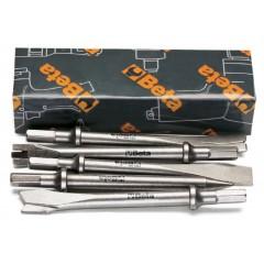 Serie di 5 scalpelli per martelli scalpellatori 1940 - Beta 1940/S5