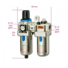 Filtro regolatore lubrificatore - Beta 1919F1/4