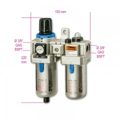 Filtro regolatore lubrificatore - Beta 1919F3/8
