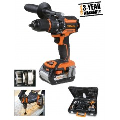 Percussion drill, 18 V, brushless and ultracompact, Beta Tools 1972/18