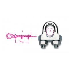 Morsetti in acciaio, corpo stampato a freddo zincati - Robur 8016FR