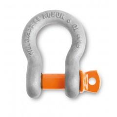 Grilli a lira per sollevamento, perno a vite acciaio legato ad alta resistenza staffa zincata a caldo - Robur 8029R