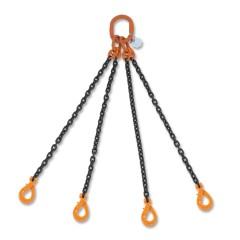 Pendenti per sollevamento catena a 4 bracci, ganci Self-Locking grado 8 - Robur 8094SL