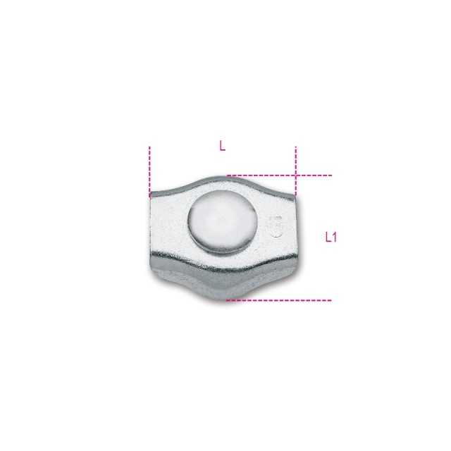 Morsetti simplex zincati - Robur 8317SZ