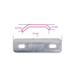 Piastre per collari quadri zincate a caldo - Robur 8383P