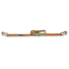 Sistemi di ancoraggio a cricchetto LC 2500kg nastro in poliestere ad alta tenacità (PES) ganci a uncino - Robur 8182H