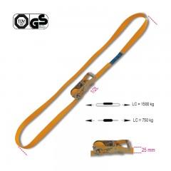 Sistemi di ancoraggio ad anello LC 1500kg con cricchetto tenditore nastro in poliestere ad alta tenacità (PES) - Robur 8185