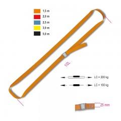 Sistemi di legatura ad anello LC 200kg con fibbia di serraggio nastro in polipropilene ad alta tenacità (PP) - Robur 8188F