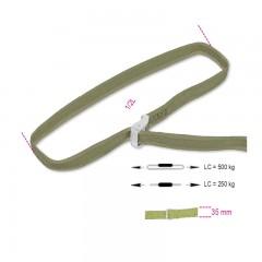 Sistemi di legatura ad anello LC 500kg con fibbia di serraggio nastro in polipropilene ad alta tenacità (PP) - Robur 8188VF/35