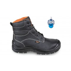Leather ankle boot, water-repellent, with cold proofing membrane and reinforcement polyurethane toe cap cover - Beta 7239C