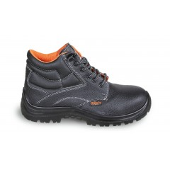 Leather ankle shoe, water-repellent,  with quick opening system - Beta 7243EN
