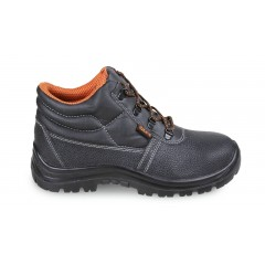 Leather ankle shoe, water-repellent - Beta 7243BK