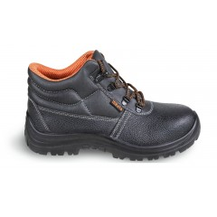 Leather ankle shoe, water-repellent, with quick opening system - Beta 7243CK