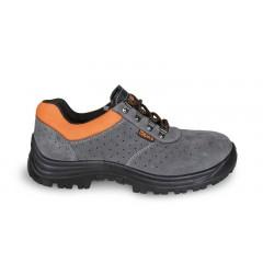 Suede shoe, perforated - Beta 7246E