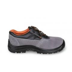 Perforált hasítottbőr cipő - Beta 7246BK