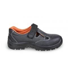Sandały bezpieczne skórzane, perforowane - Beta 7247BK