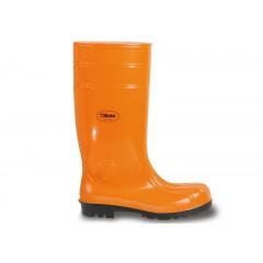 Buty wysokie bezpieczne z PCW, pomarańczowe - Beta 7328EA