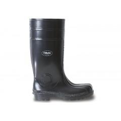 Buty wysokie bezpieczne z PCW, czarne - Beta 7328EN
