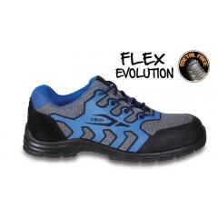 Schuhe aus Mesh-Material, hoch atmungsaktiv, mit abriebfestem Einsatz im Zehenschutzkappenbereich - Beta 7217FB