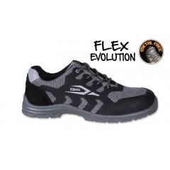 Sapato em tecido respirável,  com inserção anti-abrasão na biqueira - Beta 7217FG