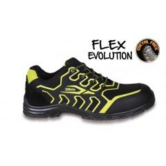 Sapato em microfibra, impermeável,  com inserção anti-abrasão na biqueira - Beta 7219FY