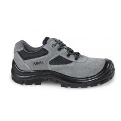 Suede schoen met nylon inzetstukken en polyurethaan versteviging op het neusgedeelte - Beta 7248GK