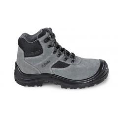Scarpe alte in pelle scamosciata con inserti in nylon, rapido sfilamento e copripuntale di rinforzo in pol... - BetaWORK 7249GK