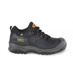 Scarpe basse in pelle nabuk idrorepellente con SUPPORT SYSTEM per il contenimento laterale della caviglia - BetaWORK 7293HN