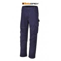 Pantaloni da lavoro in T/C twill 245 g, blu - BetaWORK 7840BL