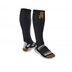 Knee-length socks made from elastic compression terry - Beta 7421