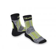 Calze maxi sneaker con inserti protettivi e traspiranti su zona tibia e collo del piede. - BetaWORK 7427