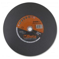 Dischi abrasivi per troncare acciaio Esecuzione a centro piano Dischi da utilizzare con troncatori fissi - BetaABRASIVES 11018