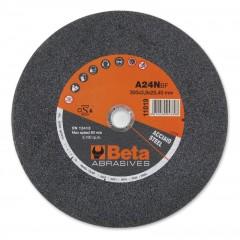 Dischi abrasivi per troncare acciaio Esecuzione a centro piano Dischi da utilizzare con troncatori fissi - BetaABRASIVES 11019