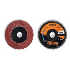 Dischi lamellari con tela abrasiva al  Supporto in plastica e lamella singola - BetaABRASIVES 11230C