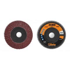 Dischi lamellari con tela abrasiva al corindone Supporto in plastica e lamella doppie - BetaABRASIVES 11232A
