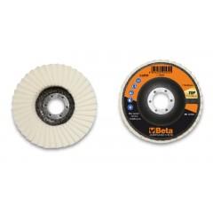 Dischi lamellari con lamelle in feltro Supporto in fibra di vetro e lamella singola - BetaABRASIVES 11259