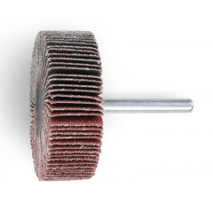 Ruote a lamelle con gambo Lamelle in tela abrasiva al corindone - BetaABRASIVES 11266