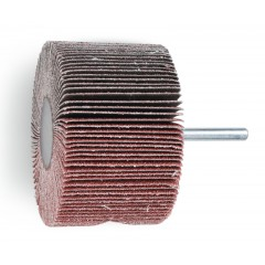 Ruote a lamelle con gambo Lamelle in tela abrasiva al corindone - BetaABRASIVES 11268
