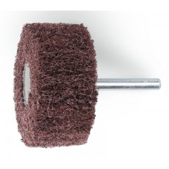 Ruote in tessuto non tessuto abrasivo con gambo Tessuto in fibre sintetiche al corindone - BetaABRASIVES 11271C