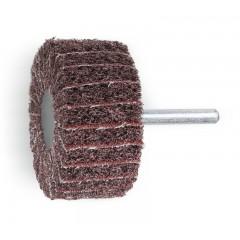 Ruote miste lamelle/tessuto non tessuto con gambo Lamelle in tela abrasiva alternata a tessuto in fib... - BetaABRASIVES 11276C